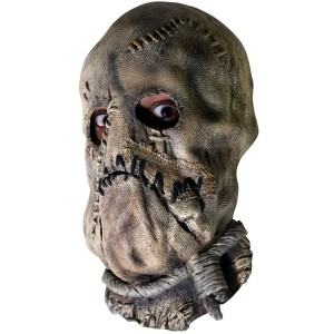 Batman Dark Knight - Scarecrow Adult Mask - Brown / One-Size