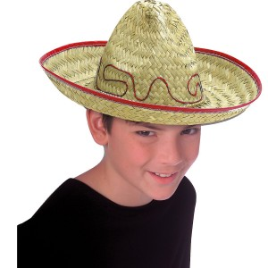 Child Sombrero - Brown / One Size