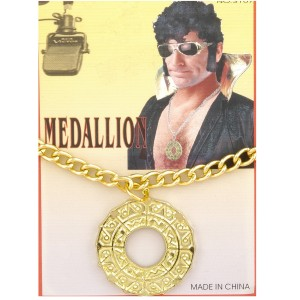 Disco Medallion - Gold / One-Size