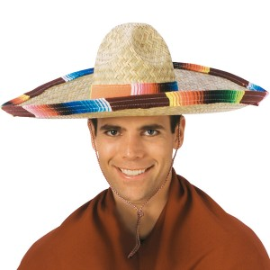 Sombrero Adult - Brown / One-Size