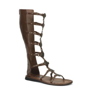 Roman Brown Adult Sandals - Brown / Large (12-13)