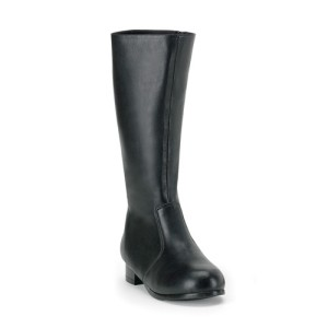 Black Child Boots - Black / Small (11-12)