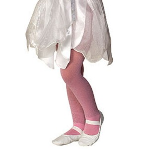 Pink Sparkle Tights - Child - Pink / Small