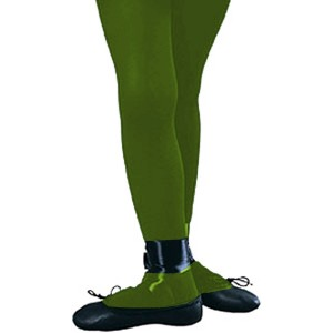 Green Tights - Child - Green / Large
