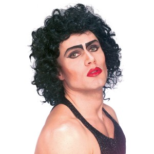 Rocky Horror Picture Show-Frank-Furter Wig Adult - Black / One Size