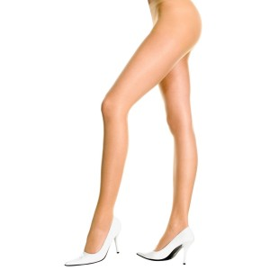 Control Top Pantyhose Nude - Adult - Tan / One-Size