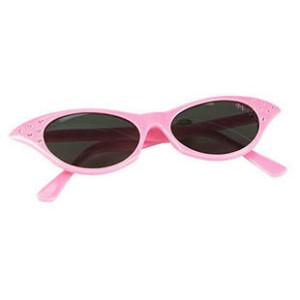 Lady's Pink Sunglasses - Pink / One Size