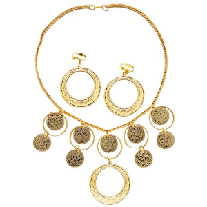 Gypsy Jewelry Set - Gold / One-Size