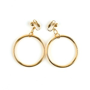 Hoop Earrings - Silver / One-Size