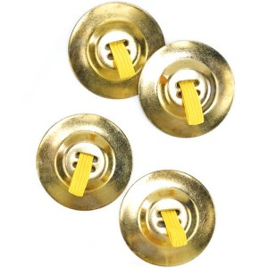 Cymbals - Gold / One-Size