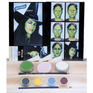Witch Make-Up Kit - White / One-Size