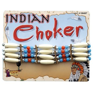 Indian Choker - Brown / One Size