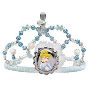 Disney Cinderella Child Tiara - White/Blue / One-Size