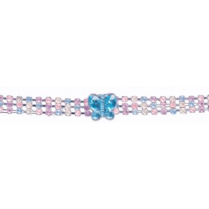Butterfly Child Choker - Pink / One-Size