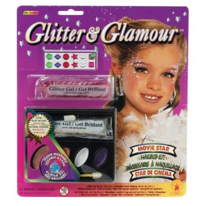 Glitter Make-Up Kit - White / One Size