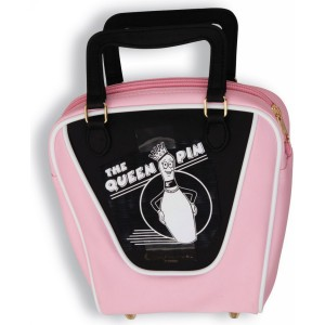 Bowling Bag Purse - Black / One-Size