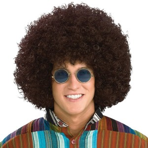 Jumbo Afro Adult Wig - Black / One-Size