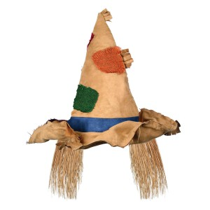 Scarecrow Hat Adult - Brown / One-Size