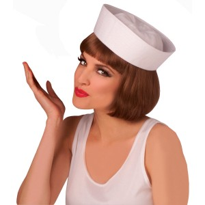 Sailor Hat - White / One Size