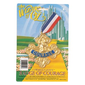 The Wizard of Oz Badge Of Courage - Gold / One Size