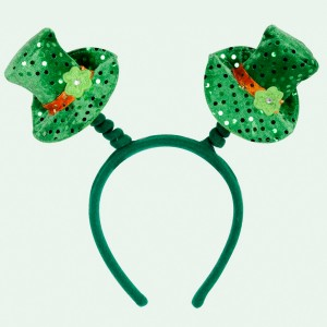 Leprechaun Hat Head Bopper - Green / One-Size