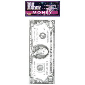 Money Big Daddy - Silver / One Size