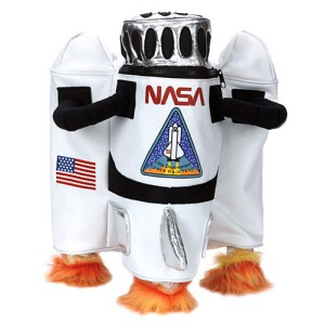NASA Astronaut Backpack - White / One Size