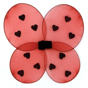 Ladybug Child Wings - Red / One Size