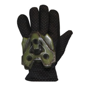 Halo 3 Gloves - Adult - Green / One-Size
