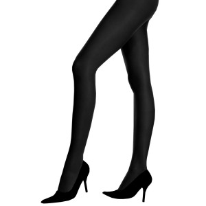Control Top Pantyhose Black - Adult - Black / One-Size