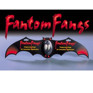 Fantom Fangs Bat - White / One Size