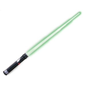 Star Wars Jedi Master Green Lightsaber - Green / One Size