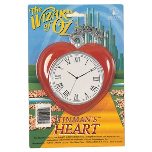 The Wizard of Oz Heart Clock - Red / One Size