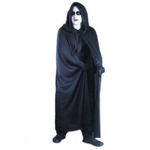 Cape, 72'' Hooded - Black