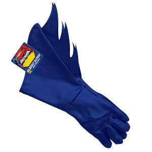 Batman Brave & Bold Batman Adult Gloves - Black / One-Size