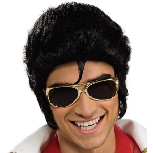 Elvis Glasses Adult - Gold / One-Size