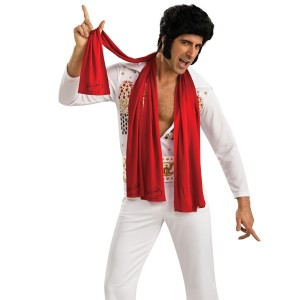 Elvis Scarves 3 - Red / One-Size