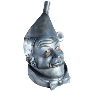 The Wizard of Oz Tin Man Deluxe Mask Adult - Gray / One-Size