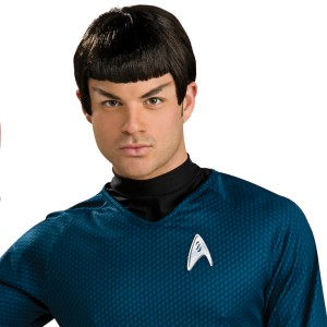Star Trek Movie 2009 Spock Wig Adult - Black / One-Size