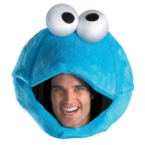 Sesame Street Cookie Monster Adult Headpiece - Blue / One-Size