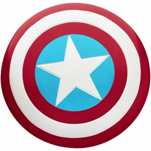 Captain America Adult Shield Large - Blue / One-Size