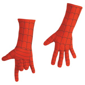 Spider-Man Deluxe Adult Gloves - Red / One-Size