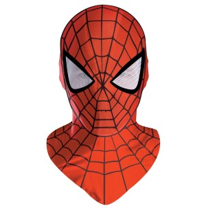 Spider-Man Deluxe Adult Mask - Red / One-Size