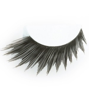 Black Peaked Eyelashes - Black / One-Size