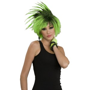 Twist O' Lime Adult Wig - Green / One Size