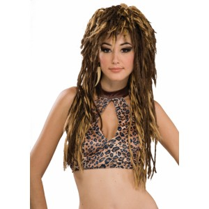 Untamed Adult Wig - Brown / One Size