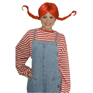 Pippi Wig - Red / One Size