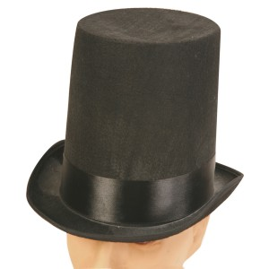 Super Deluxe Stove Pipe Adult Hat - Black / One Size