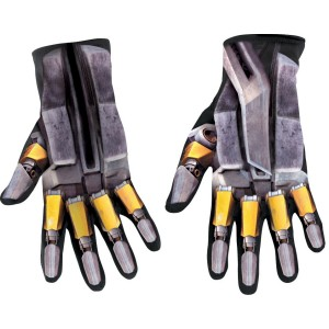 Transformers Bumblebee Child Gloves - Silver/Yellow / One Size