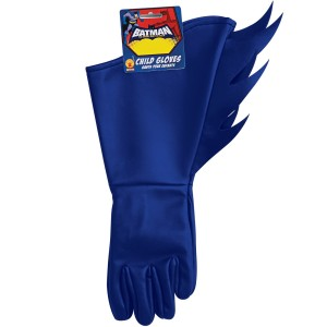 Batman Brave & Bold Batman Child Gloves - Blue / One-Size